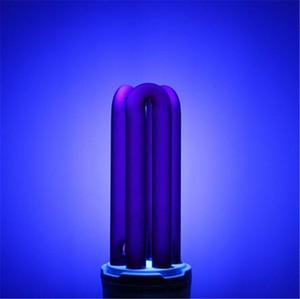 Nouveau E27 UV Ampoule AC220V 15W 20W 30W 40W Droit Basse Énergie Ultraviolet Fluorescent Noir Lumière CFL Violet Germicide Lampe