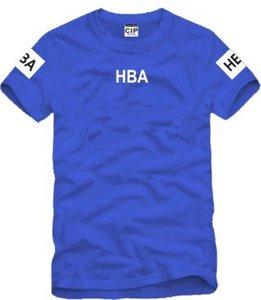 أزياء الرجال HBA الصيف نمط 2021 جديد المحملات الرجال دائرة قمم رسائل gd الملابس المطبوعة بلايز mfwfg