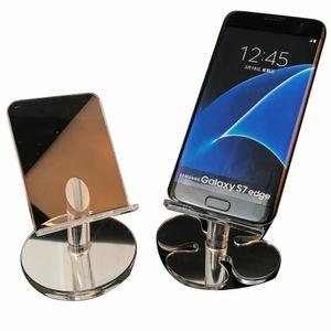 الاكريليك الهاتف الخليوي عرض الهاتف المحمول حامل الرف يتصاعد حامل ل 6 inch فون سامسونج الهاتف HTC في سعر جيد مجانا DHL