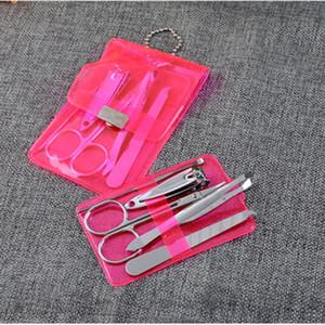 Оптово-5шт из нержавеющей стали для стрижки ногтей Наборы для маникюра Педикюр Ножницы Пинцет Нож Ухо выбрать комплект для ухода за ногтями