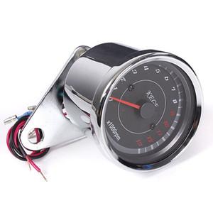 고품질 오토바이 속도계 타코미터 주행 거리계 Rev 카운터 0-13000 RPM AUP_303