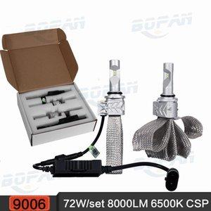도매 9006 / HB4 8000LM 72W 6500K 자동차 LED 헤드 라이트 유연한 구리 벨트 안개 램프 CSP 단일 빔 전조 등 12v 24v 4x4 4 륜구동