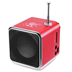 10-40pcs TDV26 мини-Метали стали активным сабвуфером автомобиля алюминиевого сплава спикер TF Радио FM USB Бумбокс Caixa де сома Громкоговоритель высокого качества