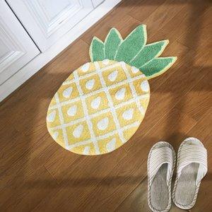 Toptan 1 Adet İskandinav Stili Bebek kapitone Çal Mats Çok güzel Halı Kilim Çocuk Odası Dekorasyon ananas Dayanıklı Kilimler Kayma