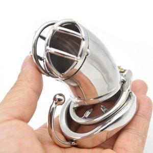 الأجهزة الصلب الذكور مع قاعدة القفص C272-1 كبير الفولاذ المقاوم للصدأ chastity mkspe