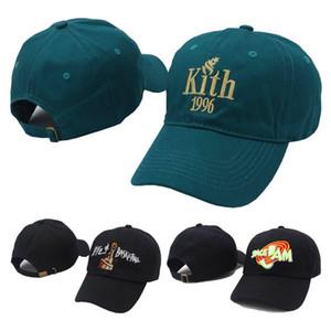 Mode Kith 1996 Strapback Caps Space Jam Liebe Basketball Hüte Männer Frauen Sport Hysteresenhut Baseballmütze Hip Hop Einstellbare Hut