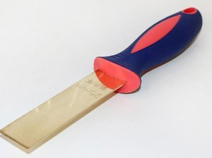 Non-sparking Brass 25*200mm Putty Knife, Scraper,Safety Tool,Construction Hand Tools