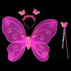 Toptan tedarik: Tek ipek çorap kelebek kelebek renk kelebek melek kanatları üç set