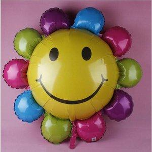 Big Sunflower Farbe Ballon Schöne Hochzeit Dekoration Geburtstagsgeschenk Aluminiumfolie Wasserstoff Ballon Kinder Gefälligkeiten