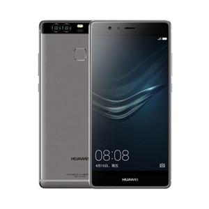 """오리지널 화웨이 P9 4G LTE 핸드폰 기린 955 옥타 코어 4GB RAM 64GB ROM 5.2 """"2.5D 유리 듀얼 후면 12.0MP 지문 인식 스마트 폰"""