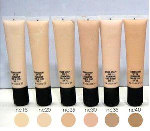NUEVO maquillaje caliente STUDIO Foundation SCULPT SPF 15 Corrector profesional Foundation 40ML DHL Envío + regalo