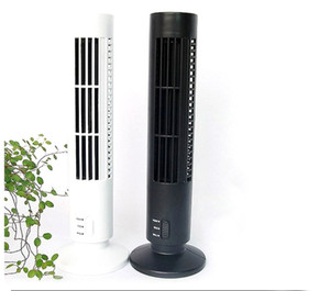 Mini USB Fan Klimaanlage Ventilator Büro- / Haushaltsgeräte Tower Fan Desktop Dual Bladeless tragbare Lüfter