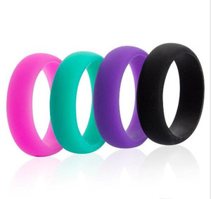 Europe and the United States creative ring wedding ring of men and women of environmental protection silicone jewelry gift