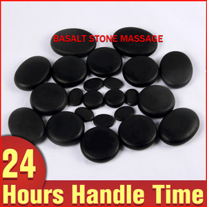 28pcs Packing Hot Sell Massage Stones Massage Stone Set Hot Spa Rock Basalt Stone For Back Pain Relieve