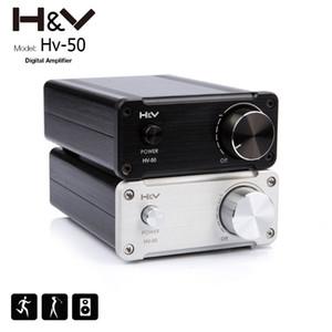 Freeshipping Hot FX-Audio TOE F1 50W * 2 TDA7492 Amplificador de potencia de audio digital de alta fidelidad 24V Mini amplificador de gama de aluminio d Amplificador de casa
