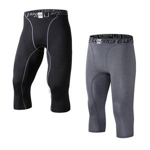 AB erkek Sıkıştırma Capri Baz Katman Tayt 3/4 Pantolon capri pantolon