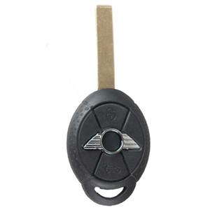 مضمونة 100 ٪ 3Buttons استبدال سيارة شل حالة مفتاح بعيد فوب لسيارات BMW ميني كوبر شفرة تقطيعه شحن مجاني