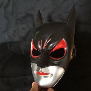 Preto Full Face Batman Máscara Unisex Masquerade Máscara Veneziana Mardi Gras Traje Máscaras Um Tamanho Para A Maioria