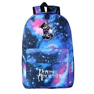 Бесплатная доставка DOTA2 шторм дух звездное небо рюкзак мужской рюкзак Dota2 сумка Dota фанаты сумасшедшая любовь мода сумка