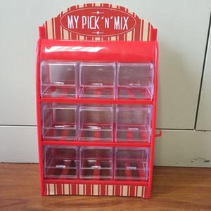 VENDING Zuckerwattemaschine Zuckerwattemaschine / PICK N MIX / CANDY COLOR WAGEN / CANDY DISPENSER / SWEET SHOP / CANDY SHOP OHNE CANDY RED