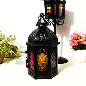 Artikel Stil Leuchtturm Schmiedeeisen Kunst Kerzenständer Kerzenhalter Startseite Hochzeitsdekoration Aushöhlen Laternen Kunsthandwerk