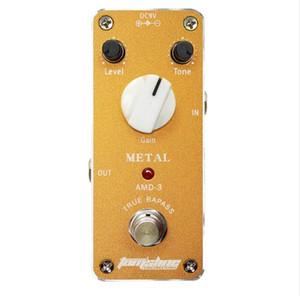 AROMA Tom'Sline AMD - 3 metal Distortion Mini Guitar педаль эффектов аналоговый эффект True Bypass