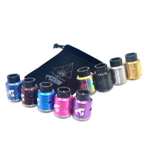 Newest 528 Custom 1.5 528 Goon V1.5 RDA Atomizers clone with 24mm Diameter Cyclops Airflow 9 Colors for 510 Thread Vape Mods DHL free