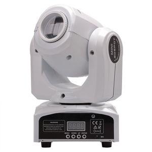 Kafa Işıklar LED 10W 30W spotların gösterimde Hareketli Işık DMX Sahne Nokta Mini LED Moving Head 8colors Hareketli