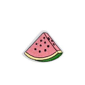 10 PCS Mignon Pastèque Fruits Broderie Patch pour Vêtements Fer sur Patches pour Sacs Applique DIY autocollants pour Jeans