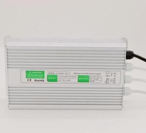 200W Transformers Salida DC 12V 24V fuente de alimentación led controlador adaptador de conmutación de entrada CA 110V 220V para iluminación led exterior