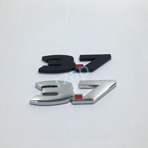 Для Ford 2011-2012 V6 MustangG 3.7 Черный Серебристый Хром Автомобиль Fender Боковая Эмблема Наклейка Знак