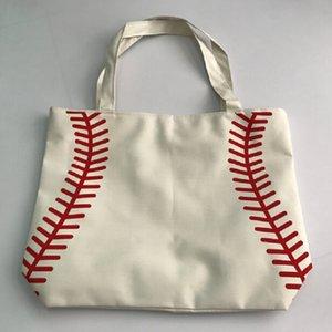 2017 небольшой холст сумка Бейсбол сумки спортивные сумки повседневная сумка софтбол мешок футбол Футбол Баскетбол сумка хлопок холст материал