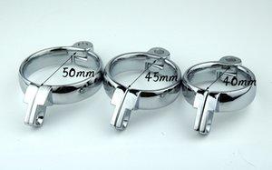 Nuevo dispositivo de tamaño de la jaula Adicional polla Elija 3 accesorios de anillo de castidad Lock Penis Retribe Rings Male Male Penis Cock IUGNJ
