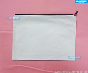 (70 шт./лот) WhiteNaturalOff белый цвет чистый хлопок холст портмоне с черной застежкой-молнией унисекс случайный бумажник пустой Кометический Мешок без подкладки