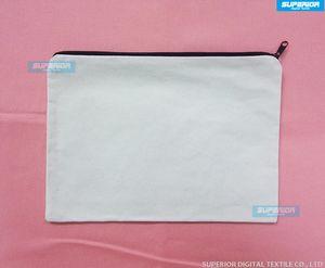 With Coin Cotton Color Pure White Canvas Black Purse (70pcs lot) Unisex Zipper Bag Wallet Casual Blank White&Natural&Off Cometic No Lin Ihhm