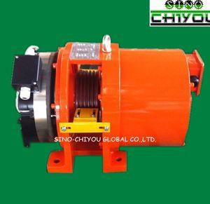 Levante el modelo de las piezas: máquina de tracción del motor sin engranajes del elevador YTW16N MRL / 320kg / 400kg / 450kg