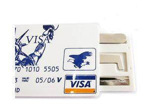 Sıcak Vize James Bond Kredi-Kart Pickset Kanca Kilit Seçim Seti, kilit seçim aracı çilingir toolfree nakliye