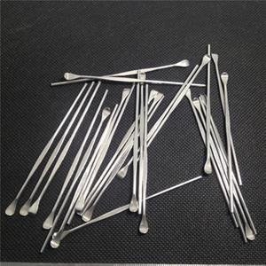 Sıcak Satış Dab Aracı Wax Konteynerler Dab Kalem eGo Aracı Paslanmaz Çelik Metal Kaşık Kuru Ot Buharlaştırıcı için 80 m Balmumu A ...