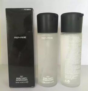 Makeup Prep+Prime Fix + FIXANTE   RAFRAICHISSANTE 100ML Fixer Finishing Setting Spray Long lasting Natural Silicone 24 pcs free shipping dhl
