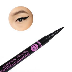 2017 marca termales naturales más nuevo maquillaje a prueba de agua 1Pc Negro delineador líquido de ojos lápiz delineador de pluma comestics # M01171