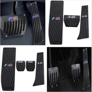 Car-Styling Alta Qualidade Alumínio Liga de Alumínio Pedal Pedal Pedal Para BMW X1 M3 E39 E46 E87 E84 E90 E91 E92 Acessórios Para Carro