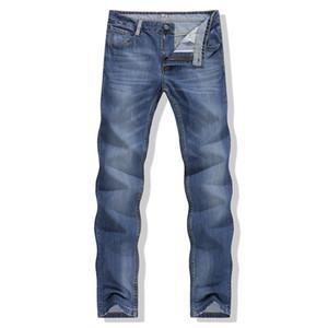 Al por mayor-Nueva ropa de los hombres calientes Pantalones vaqueros ocasionales masculinos pantalones largos Diseño de llegada Slim Fit Jeans de moda para hombres Jeans pitillo baratos