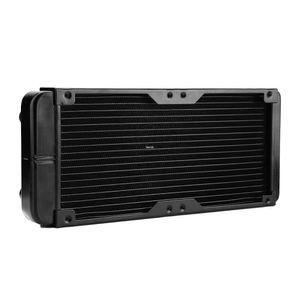 Freeshipping 240mm G1 4 Aluminum Computer Radiator Water Cooling For CPU LED Heatsink