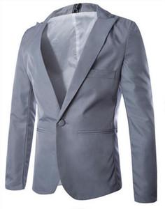 Горячая новая весна мода конфеты цвет стильный тонкий подходят мужской пиджак повседневная блейзер ночной клуб костюмы одежда /M-3XL