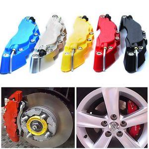 S tamanho 14-15 polegada pneu pinça de freio universal 2 pçs / lote carro abs pinças frente kit de tampa do disco traseiro 3d