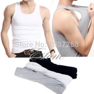 الجملة الجديدة القمصان أزياء رجالي أكمام تانك الأعلى العضلات تي شيرت ملابس رياضية سترة فنايل
