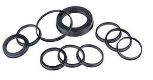 70.1-67.1mm 20pcs Black Plastic Wheel Hub Centric Ring Custom Size Available Wheel Rim Parts Accessories