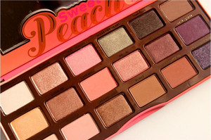 Free dhl eyeshadow palette Sweet Peach 18 color eye shadow palettes brand Eye Shadow Collection Makeup Christmas Gift free shipping