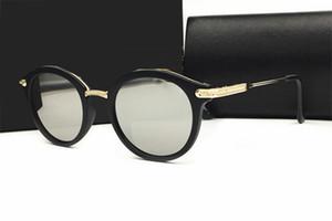 Marchio di fama mondiale Outdoor Eyewear vintage Occhiali da sole donna da donna nero nero tonalità Fashion Retro con scatola