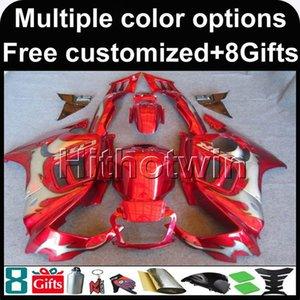23colors + 8Gifts red cowlow per HONDA CBR600F3 1995-1996 CBR600 1995 1996 ABS Plastic Fairing